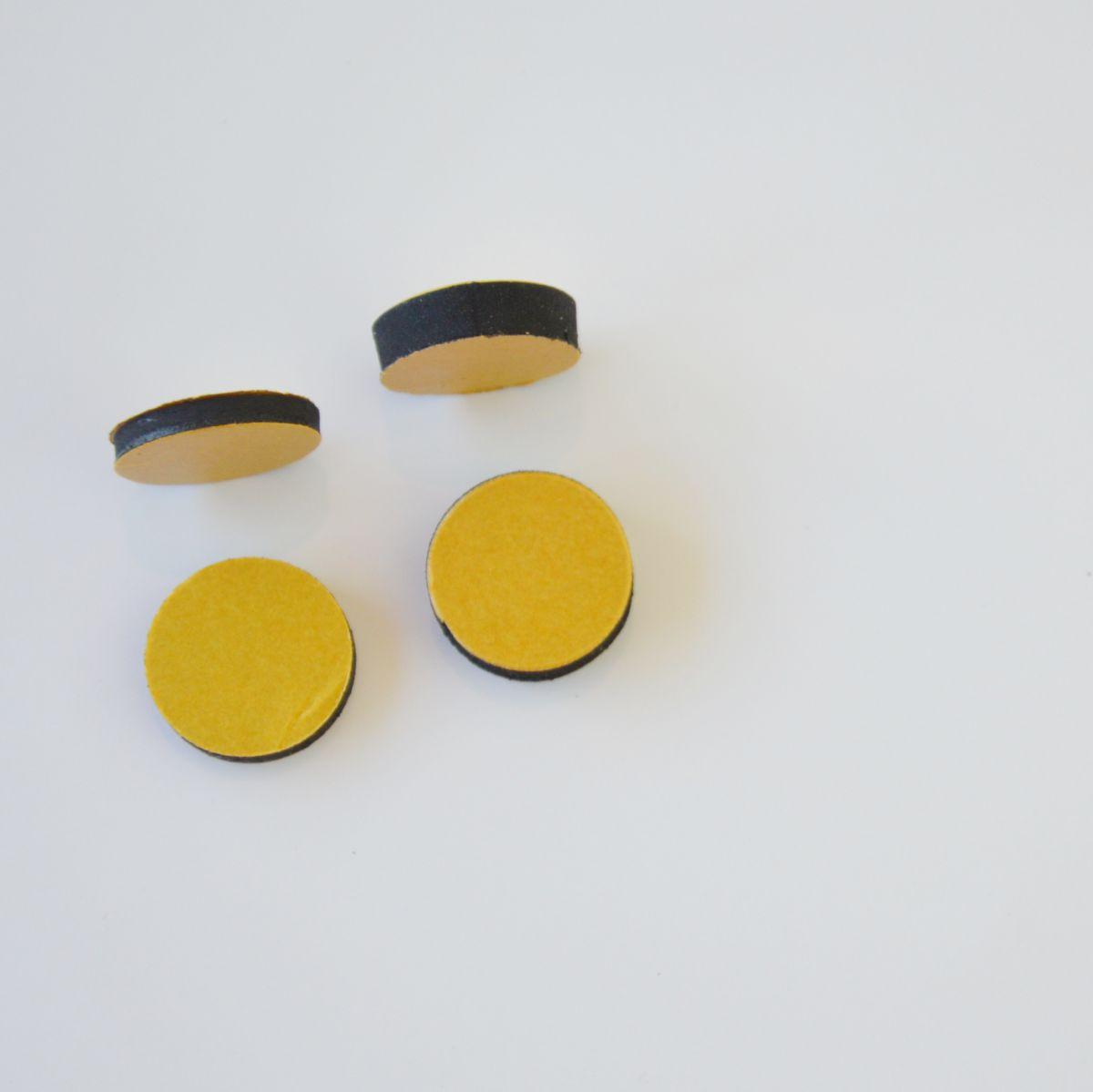hp afstandhouders dubbelzijdig voor directe fixatie van de tack 5mm per 1000 stuks
