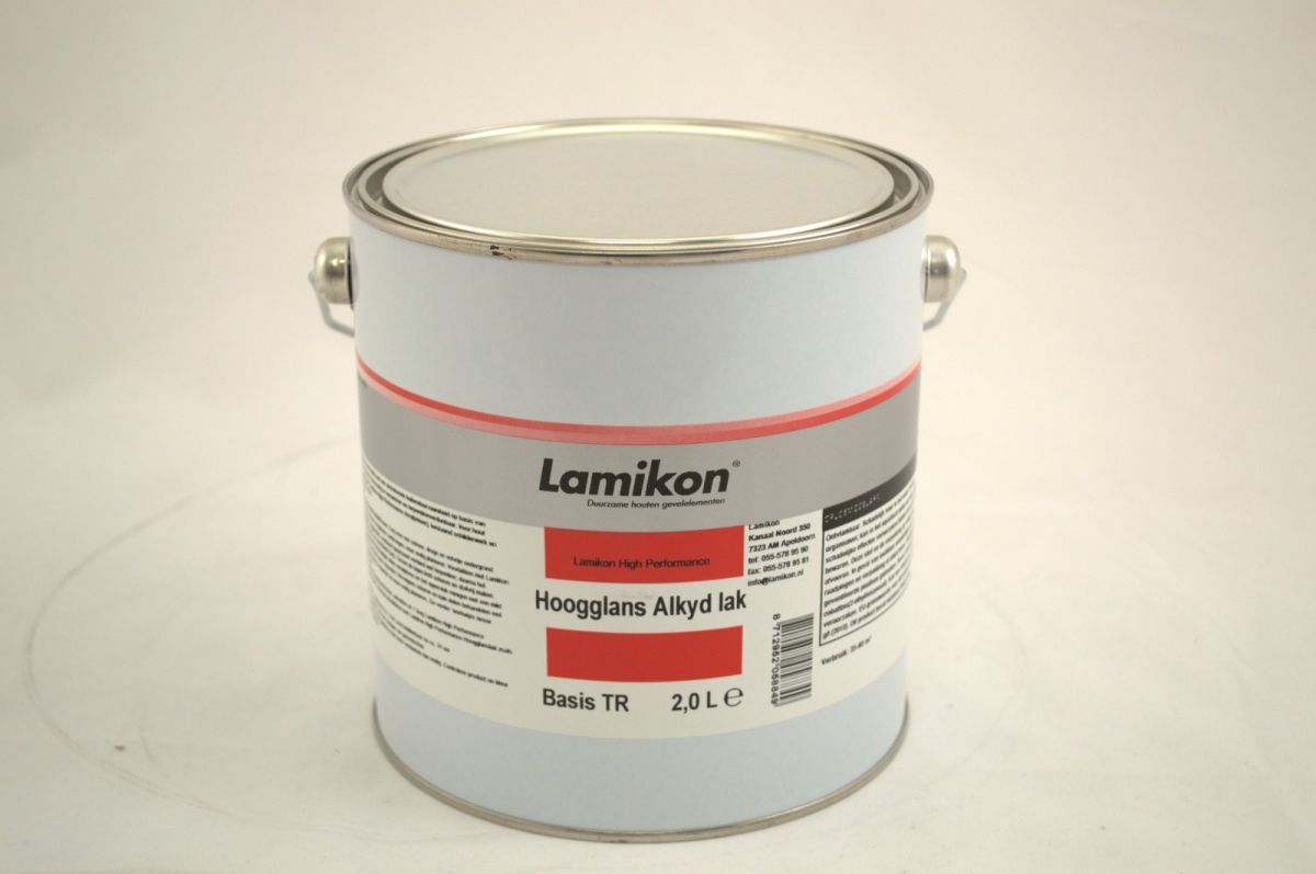 lamikon high performance hoogglans alkyd lak tr 25 ltr